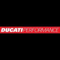 Sticker LOGO DUCATI Performance Rouge