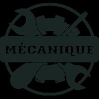 Sticker Déco Baril Mécanique