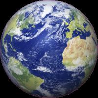 Autocollant Terre