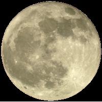 Autocollant Lune