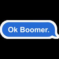 Sticker Ok Boomer