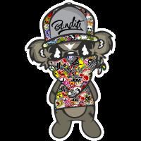 Sticker bomb Jdm Bandit Debout Paul