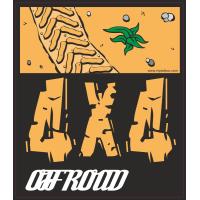 Autocollant 4x4 Off Road
