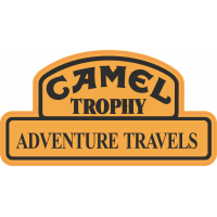 Autocollant  4x4 Camel Trophy