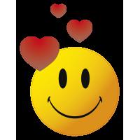 Autocollants smiley 6
