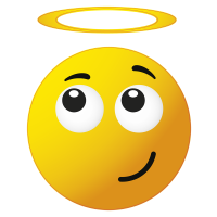 Autocollants smiley 8