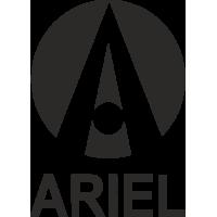 Sticker Logo Ariel Moto 2