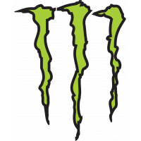 Autocollant Monster  Energy