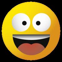 Autocollants smiley 24