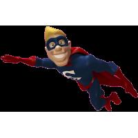 Autocollant Super Heros