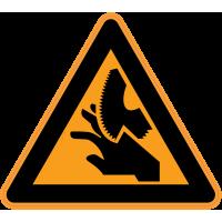 Panneau Danger Risque de coupures 2