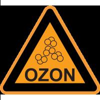 Panneau Danger Couche d'ozone