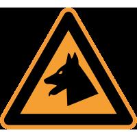 Panneau Danger Chien de garde