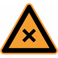 Panneau Danger Produits nocifs
