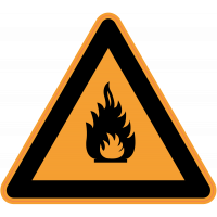 Panneau Danger Produits inflammables
