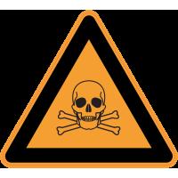 Panneau Danger Produits toxiques
