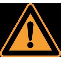 Panneau Danger Attention