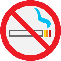 Panneau Interdiction de fumer 2