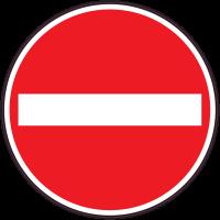 Panneau Interdiction Sens interdit