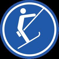 Panneau Obligation Tire-fesses debout