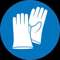 Panneau Obligation Porter gants de sécurité