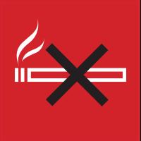 Panneau Indication Interdiction de fumer