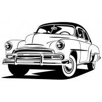 Sticker CHEVROLET BEL AIR Car
