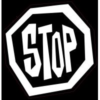Panneau Bomb Stop