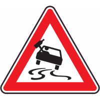 Panneau Danger Alcool au volant