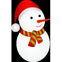 Déco Noel Bonhomme De Neige 1