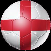 Autocollant Ballon Foot Angleterre