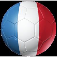 Autocollant Ballon Foot France