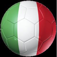 Autocollant Ballon Foot Italie