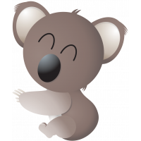 Stickers Koala 2 Pour Enfants