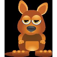 Stickers Kangourou Pour Enfants