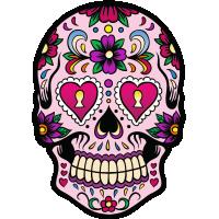 Calavera - Tete De Mort Mexicaine 2