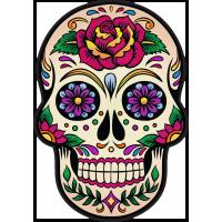 Calavera - Tete De Mort Mexicaine 4