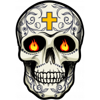 Calavera - Tete De Mort Mexicaine 16