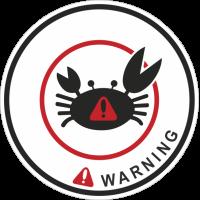 Jdm Crabe Warning