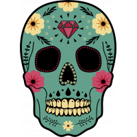 Calavera - Tete De Mort Mexicaine 25