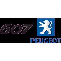 Peugeot Logo 607 Gauche