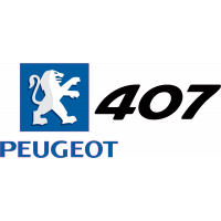 Peugeot Logo 407 Gauche