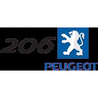 Peugeot Logo 206 Droite