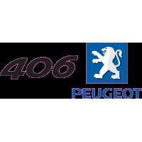 Peugeot Logo 406 Gauche