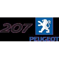 Peugeot Logo 207 Gauche