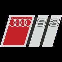 Autocollant Audi S3 1
