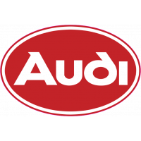 Autocollant Audi Rouge