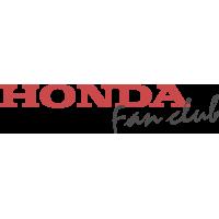 Autocollant Honda Fan Club