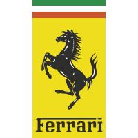 Autocollant Ferrari Logo