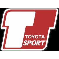 Autocollant Toyota Sport